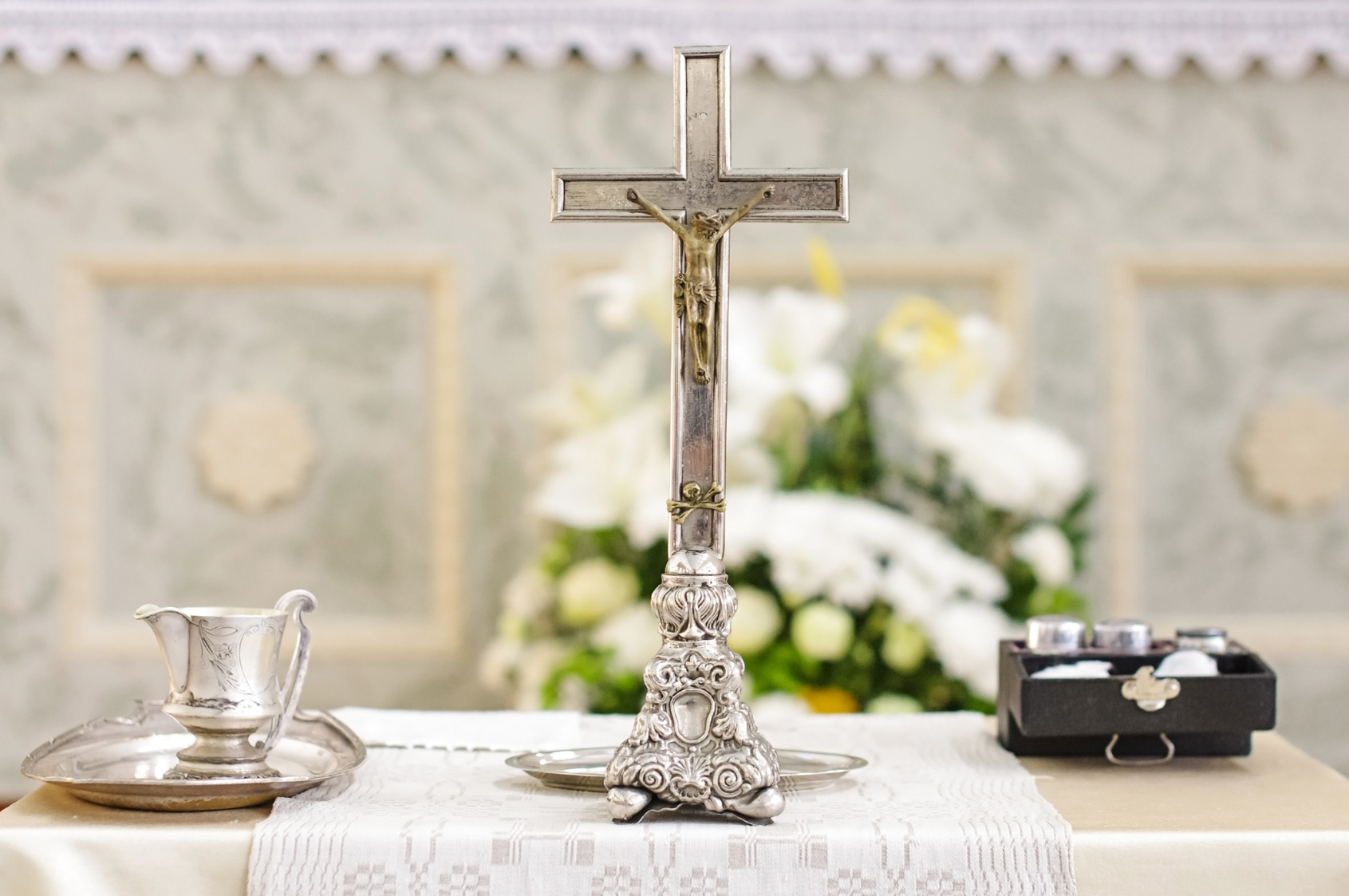 Communion and christening